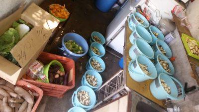 アジア館の夕食
