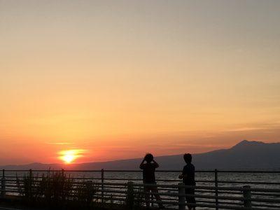 天草の夕焼け2